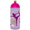 "FREEWATER Kulacs, higiénikus műanyagból, 0,7L,  ""Jóga"", lila"