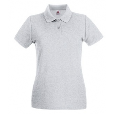 Fruit of the Loom 63-030 LADY FIT Premium női póló HEATHER GREY S-XXL méretek
