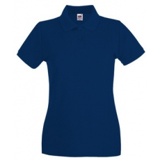 Fruit of the Loom 63-030 LADY FIT Premium női póló NAVY XS-XXL mérete