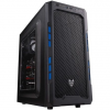 FSP CMT210 táp nélküli ATX számítógépház fekete-kék