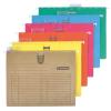Függőmappa, gyorsfűzős, karton, A4, DONAU, barna 25 db/csomag