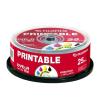 Fuji Film DVD-R 4.7GB 16x Inkjet Consumer hengeres, 25db