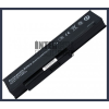 Fujitsu 3UR18650-2-T0182 4400 mAh 6 cella fekete notebook/laptop akku/akkumulátor utángyártott