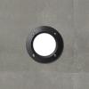 Fumagalli LETI 100 ROUND süllyeszett fali lámpa GX53 fekete test - opál üveg 3000K (Lámpa)