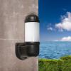 Fumagalli MIRELLA kültéri fali lámpa E27 fekete - opál (Lámpa)