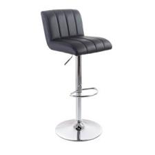 G21 Barová židle G21 Malea black, koženková, prošívaná tárgyalószék