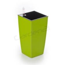 G21 Linea mini önöntöző kaspó, zöld, 14cm kerti tárolás