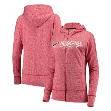 G-III Apparel Group Carolina Hurricanes női pulóver pink Reciever Full-Zip Hoodie - L