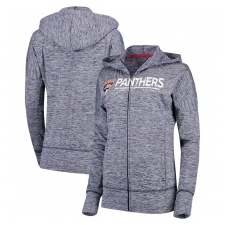 G-III Apparel Group Florida Panthers női pulóver grey Reciever Full-Zip Hoodie - XL női pulóver, kardigán