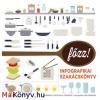 Gabriela Scolik : Főzz! - Infografikai szakácskönyv