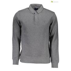 Gant Férfi galléros hosszú ujjú szürke póló WH2-1703_2028001_95