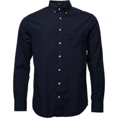 Gant Férfi Solid Broadcloth Reg Fit Shirt Ing
