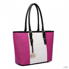 3d700b3e103b ... fodros szatén Táska Clutch alkalmi táska bézs · Gant Miss Lulu London  E1661-Miss Lulu közép csíkos Medium bevásárló táska állítható fogantyú táska