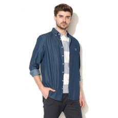 Gant , Regular fit farmering, Sötétkék, L (3040520-989-L)