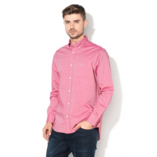 Gant ,  The Beefy regular fit oxford ing, Koptatott piros, M (3000070-626-M)
