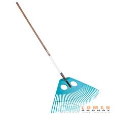 Gardena combisystem Lombseprű XXL készlet (3106/ fanyél 130 cm) FSC 100% 3015-20 gereblye, lombseprű