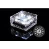 Garthen Kerti napelemes világítás - üveg kocka 9,5 x 9,5 x 4,5 cm