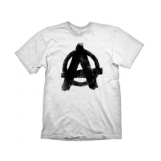 "Gaya Rage 2 T-Shirt ""Anarchy"" White, XXL"