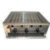 Gáz-Grill BGT-3 háromégős asztali grillező készülék, földgáz üzemű