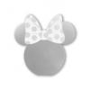 Gegeszoft Disney Power Bank - Minnie Mirror 5000mAh ezüst