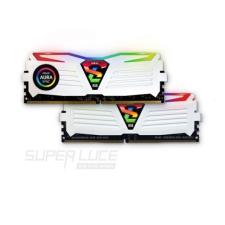Geil DDR4 16GB 2400MHz GeIL Super Luce White RGB Sync CL16 KIT2 memória (ram)