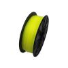 Gembird 3D nyomtatószál (izzószál) PLA, 1,75 mm-es, 1kg fluoreszkáló sárga
