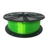 Gembird 3D nyomtatószál (izzószál) PLA PLUS, 1,75 mm, 1 kg, zöld