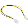 Gembird ATX 4-pin internal power supply extension cable; 0.3m