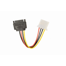 Gembird CC-SATA-PS-M SATA (male) to Molex (female) power cable, 0, 15m kábel és adapter