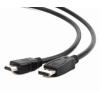 Gembird Displayport (M) -> HDMI (M) 3m kábel