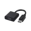 Gembird Displayport male to HDMI female adapter, 10cm, black