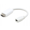 Gembird Displayport mini female to HDMI male adapter, white