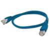 Gembird FTP kat.5e RJ45 patch kábel  0.5m  kék
