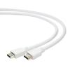 Gembird HDMI V2.0 apa-apa kábel aranyozott csatlakozóval 1.8m; bulk csomagolás