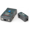 Gembird kábel teszter RJ-45,RJ-11,UTP,STP,USB AA/AB