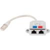 Gembird LAN port splitter, FTP, 2x RJ45