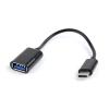 Gembird USB 2.0 OTG C-típusú adapter kábel (CM / AF); blister