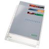 Genotherm, lefűzhető, A4, 170 mikron, narancsos felület, 20 mm, LEITZ Jumbo 10db/csom