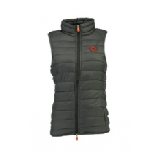 Geographical Norway , Vaynight bélelt mellény zsebekkel, Sötétszürke, 3 (VAYNIGHT-LADY-BASIC-056-DARK GREY-3)