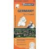 GERMANY SOUTHWEST - NÉMETORSZÁG DÉL-NYUGAT TÉRKÉP 2013 (545)