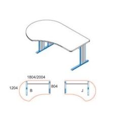 GG-180/120-J-AVA íróasztal