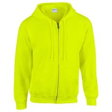 GI18600 - Safety Green (GILDAN 18600 - Kapucnis cipzásos)