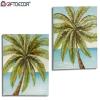 Gift Decor Vászon Gift Decor Palm Tree (3 x 80 x 80 cm)