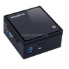 Gigabyte PC BRIX Ultra Compact | Celeron J3160 1.6|4GB|0GB SSD|0GB HDD|Intel HD|MS W10 64|2év (GB-BACE-3160_4GBW10HP_S)