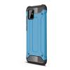 Gigapack Defender Samsung Galaxy Note 10 Lite műanyag telefonvédő (légpárnás sarok, fémhatás, világoskék)