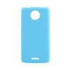 Gigapack Motorola Moto C műanyag telefonvédő (gumírozott, világoskék)