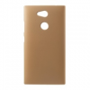Gigapack Sony Xperia L2 műanyag telefonvédő (gumírozott, arany)