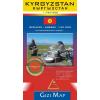 Gizimap Kirgizisztán általános födrajzi térképe - Új kiadás