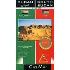 Gizimap Szudán és Dél-Szudán térkép - Gizimap térkép