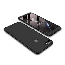 GKK 360 Protection telefontok hátlap tok Első és hátsó tok telefontok hátlap az egész testet fedő Huawei Y7 Prime 2018/2018 Y7 fekete tok és táska